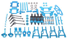 Upgrade Parts Combine Blue For HSP RC 1:10 On Road & Drift Car Electric or Nitro For HSP 94101 94102 94103 94123