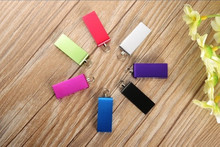 swivel Aluminum alloy USB Flash Drive 4GB 8GB 16GB 32GB 64GB USB Flash 2.0 Memory Drive Stick Pen/Thumb/Car S237