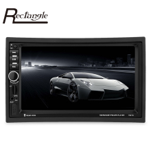 7021G 7 inch 2 Din Car MP5 Player GPS Navigation Bluetooth Car Radio Auto Multimedia Player with Remote Control FM Audio