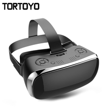 All in One 3D VR Glasses 1080P Full HD LCD Screen Display Headset Game Virtual Reality Glasses Nibiru OS 16GB Game VR Helmet(China)