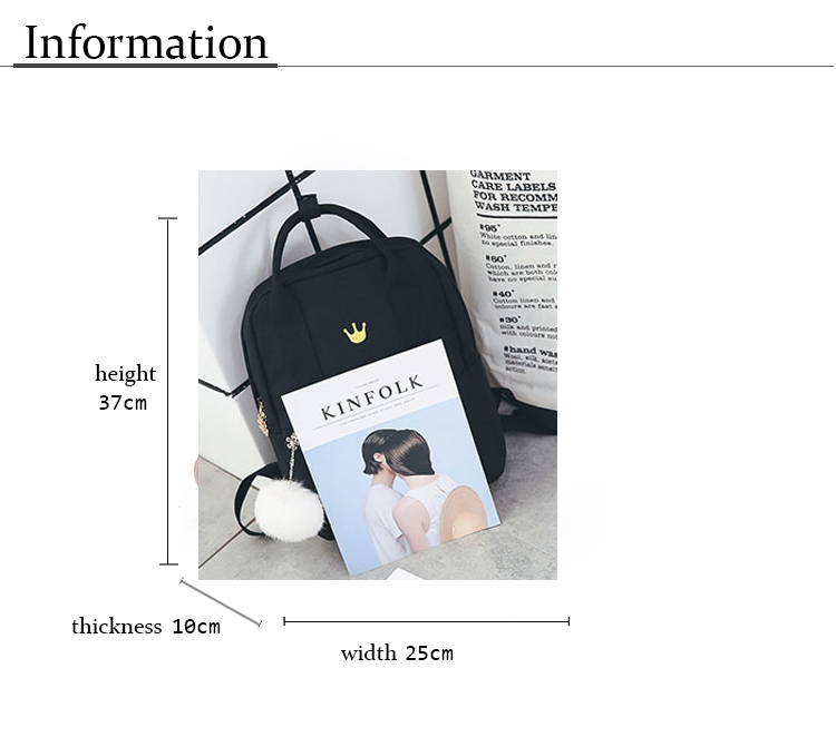 ba3e3a67adf0 Item Type  Backpacks Backpacks Type  Softback Lining Material  Polyester  Gender  Women Pattern Type  Fruit Decoration  Embroidery Rain Cover  No  Closure ...