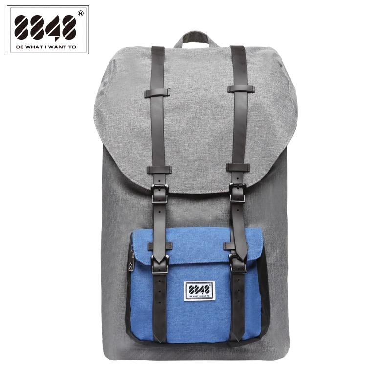 Big Backpack Men Travel Bag Laptop 20.6 L  Large Capacity  Knapsack Belt Decoration Free Shipping Guarantee Quality S15005-12<br>