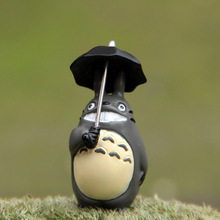 My Neighbor Totoro Miyazaki Horses The Smiling Face of The Umbrella Nuggets Do Diy Micro-landscape Landscape Doll Action Figures