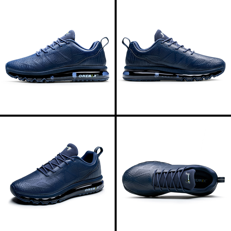 ONEMIX Men Running Shoes Fashion Casual Outdoor Jogging Air Cushioning Gym Fitness Sneakers Max 12 12