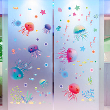 Lovely Jellyfish Style Wall Stickers On The Wall children Kids Rooms,Bathroom DIY Home Decor,PVC Vinyl Decals Decoration Etc.