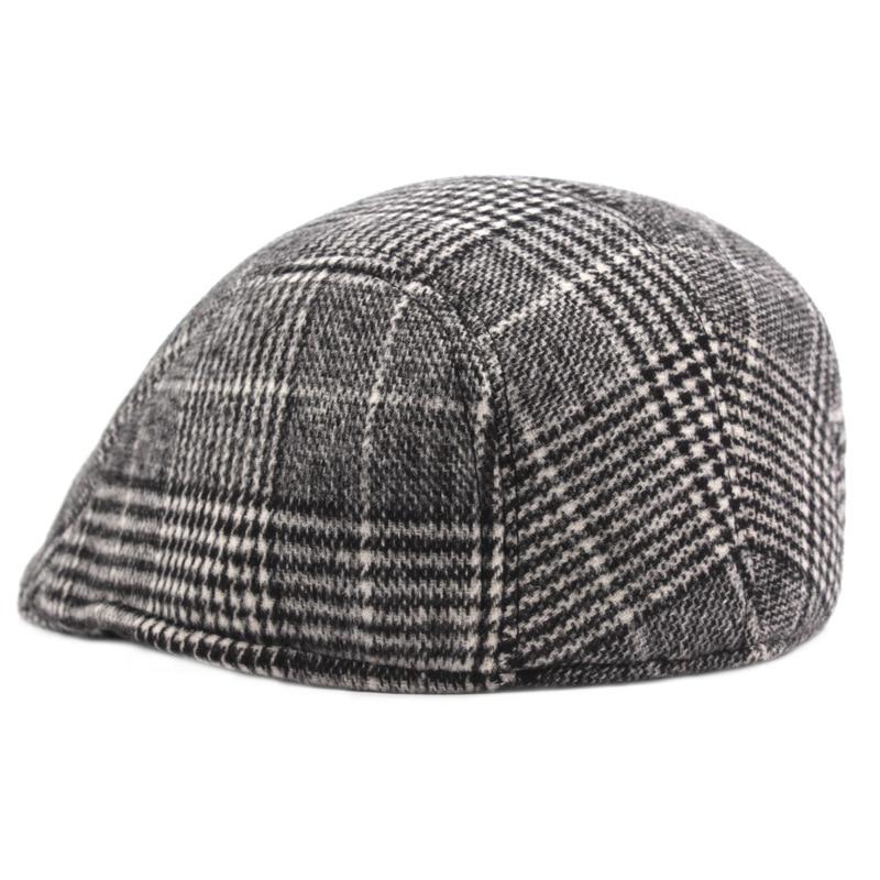 beret hat patchwork