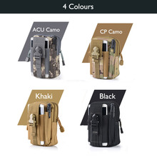 Outdoor Army Tactical Waist Belt Phone Molle Bag Case for Huawei P8/P9/V8/Mate 8/LG g5/g4/g3/Xiaomi mi5/Note 3/Meizu mx5/m3 note