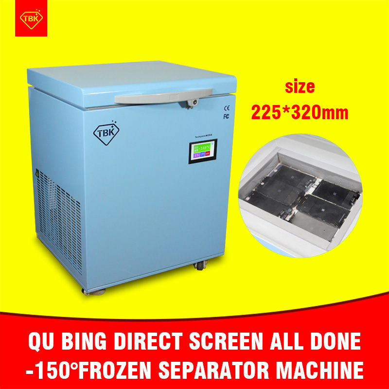Frozen separator professional mass Freezing Machine TBK-598 for Samsung edge iPhone -150C LCD Touch Screen Separating Machine (1)