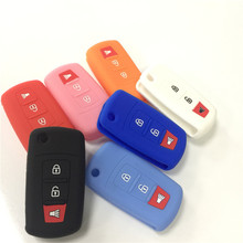 silicone rubber car key case for India Malaysia proton 3button key,3 button key cover for proton