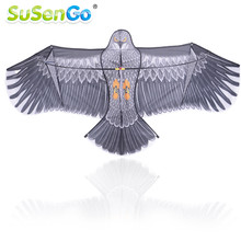 SuSenGo 1.8m Eagle Kite with 50m Handle Line High Quality Outdoor Fun Sports Games Kids Toy Flying Higher Big Kites