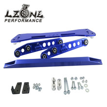 LZONE - ASR SUB FRAME FOR 92-95 Civic 93-97del Sol + EG Rear Lower Control Arm+ 92-95 Tie Bar HQ Anodized Six Color For choose(China)