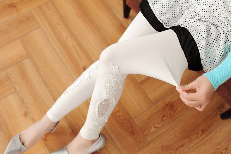 Babbytoro Brand Cotton Lace S- 7XL Leggings For Women 7