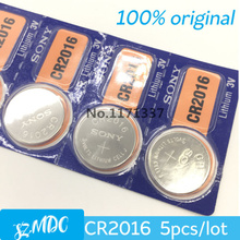 5Pcs/Lot RETAIL New LONG LASTING CR2016 CR 2016 BR2016 Watch Button Coin Cell Lithium Battery Japan Brand 100% Genuine Original