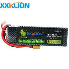Buy XXKLION RC Lipo Battery 2S 7.4v 3500mAh 35C RC boat RC Aircraft Helicopter Car Boat Drones Quadcopter Li-Polymer Batteria for $23.00 in AliExpress store