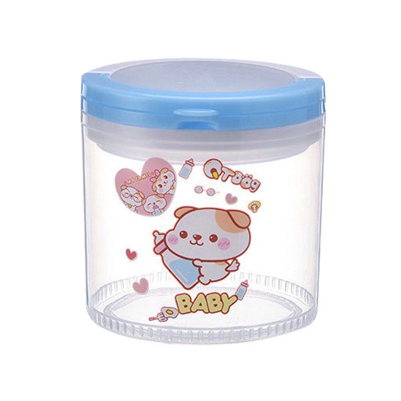Portable Infant Newborn Milk Powder Container Baby Feeding Food Seal Pot Snacks Dry Fruits Cookies Storage Box BM88