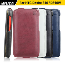 iMUCA Phone Cases For HTC Desire 310 Vertical Flip Cover PU Leather Case Cover Pouch for HTC Desire 310 D310W Luxury Phone Cases