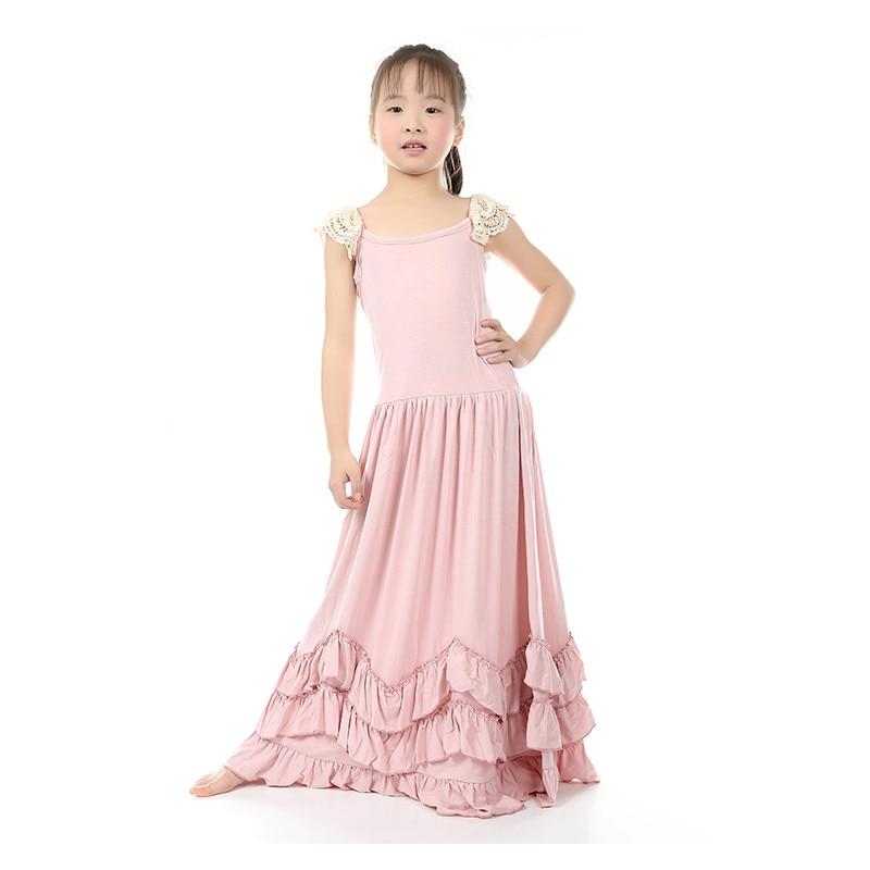 Vintage Girls Dress Rustic Flower Girl Dress Summer Cotton Long Boho Dress  Special Occasion Toddler Flower Girls Dress<br><br>Aliexpress