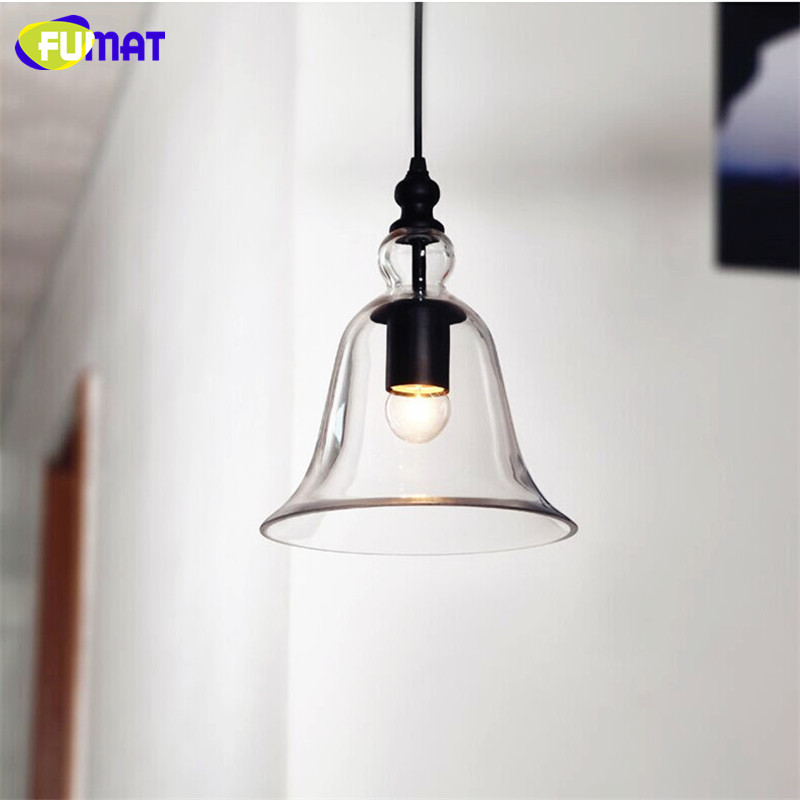 American Country Style Trumpet Glass Pendant Lights Vintage Retro Pendant Lamps Free Shipping<br><br>Aliexpress