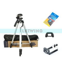 High Quality FT830 Universal Aluminum Alloy Retractable Camcorder Camera Tripod Stand - Black(China)