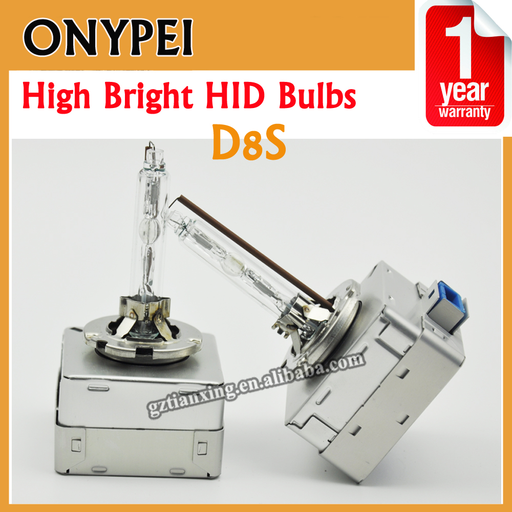 D8S Super Bright Xenon Bulb 12V 35W 5500K Car Styling Metal Holder Hid Bulbs D8 S<br>