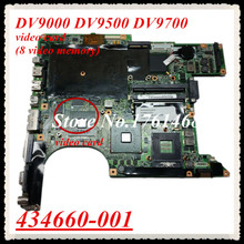 434660-001 For Acer DV9000 DV9500 DV9700 Laptop motherboard mainboard  Discrete graphics 100% Tested Free Shipping