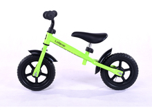 New 12 Inch Striders Balance Bike Plastic Wheel Red Blue Yellow Pink Green Kid Bicycle High Quality Steel Frame(China)