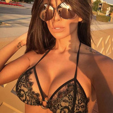 Full Lace Micro Bikinis Sexy Swimwear Strappy Swimsuit Thong Bath Suits Body suit Two-piece