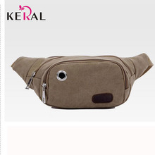 Hot 2016 New Arrival Canvas Women Waist Bag Fashion High Quality Pack Bag High Quality Canvas Bag For Unisex People