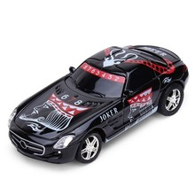 2016 New Arrival New GREAT WALL TOYS 2221 1/67 Mini 2.4GHz Remote Control RC Car in Control Box free shipping(China)