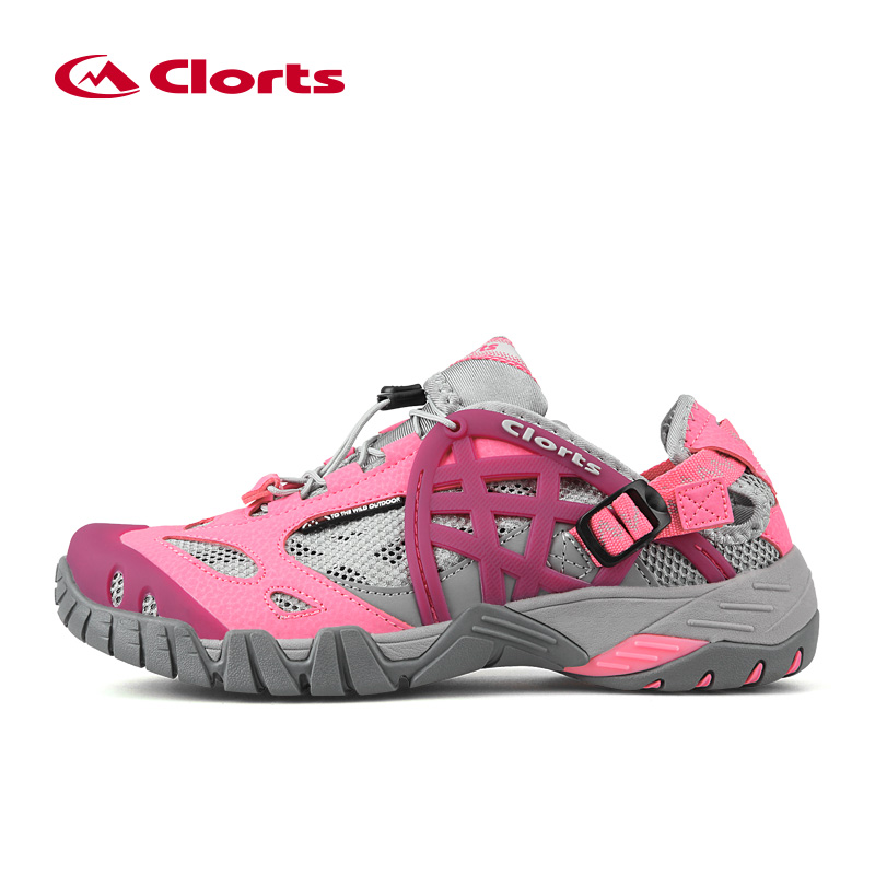 2017 Clorts New Arrival Summer Women Quick Drying Upstream Shoes Non-slip Outdoor Sneakers Water Shoes WT-05A/D<br>