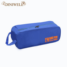 DINIWELL Portable Polyester Travel Outdoor Football Boot Sports Gym Shoe Bag Carry Storage Case Box Organizer Container(China)
