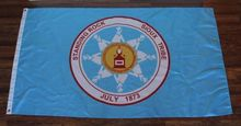 Standing Rock Sioux Tribal Banner Sports High Quality Flag 3x5FT Custom flag Drop Shipping