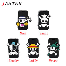 JASTER pirate one piece usb flash drive cartoon pendrive U Disk personalized mini memory stick 1GB 2GB 4GB 8GB 16GB 32GB