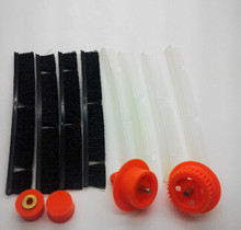 4xSilicone Blades + 4xBrush + 2xbrush bearing + 2xgears for Neato XV-21 XV Signature Pro  vacuum cleaner Replacement Neato parts