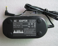 AC Adapter Power Charger Supply For Canon ACK600 CA-PS500  Powershot A95  A610  A620  A630  A640  A650IS w/ Power Cable
