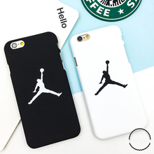 Fashion flyman Michael Jordan PC case for iphone X 8 7 6 6S SE 5 5S back mate cover carcasa capa fundas coque