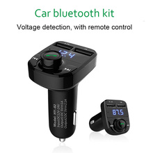 New multi-function car bluetooth hands free kit MP3 player support U disk TF card with infrared remote control