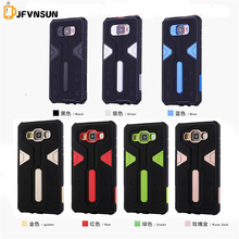 A5 2016 A5 2015 NEW Hybrid TPU+PC Hard Armor Case For Samsung Galaxy A5 A510 A500 Plastic Rubber Dustproof plug Phone Back Cover
