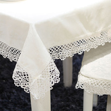 New Square pure embroidery Tablecloth table cloth dinner mat Garden Europe beauty runner Mat table cover wholesale FG603