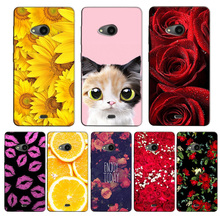For Nokia Lumia 535 Case Fashion Cartoon Painting Drawing Hard Plastic Cover Case For Nokia Microsoft Lumia 535 Phone Cases