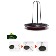 Outdoor barbecue food stent carbon steel DIY barbecue vertical chicken and duck barbecue baking oven non-stick