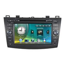 "8"" Car Radio DVD GPS Navigation Central Multimedia for Mazda 3 2010 2011 2012 2013 RDS Analog TV Phonebook Bluetooth Handsfree"