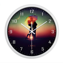 Digital Glass Wall Clock Big Vintage Quartz Watch Creative Products Plastic Large Decoraive Mirror Wall Clocks Home Decor QQN489(China)