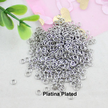 3mm Fashion Iron Open Jump Rings For Necklace Bracelet DIY Jewelry Making Part Accessories (K00418)(China)