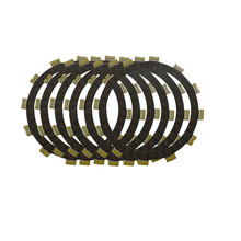 Motorcycle Clutch Friction Plates Set for SUZUKI LT250R LT250 R Quadracer 250 1985-1986 Clutch Lining #CP-00011(China)