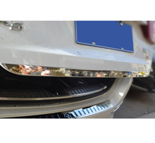 Accessories FIT FOR 2011 2012 2013 2014 KIA OPTIMA K5 TF CHROME REAR TRUNK BOOT TAILGATE DOOR COVER TRIM MOLDING LID