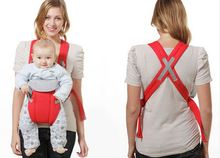 Front Pack Cotton Baby Carrier Infant Newborn Baby Breast feeding Cradle Pouch Breathable Soft Baby Wrap Sling Carrier(China)