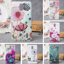 For Lenovo Vibe P1 M Silicon Case Painted High Quality Protector TPU Back Cover Case For Lenovo Vibe P1M Phone 3D Relief Cover