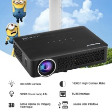 Excelvan DLP800WM DLP Projector Android 4.4 OS 1280*800 Proyectores LED Full HD 1080P 400 Ansi Lumen For Video Game Home Theater