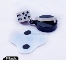 Free shipping Beat a Dice to Flat magic tricks magic toy Kits(China)
